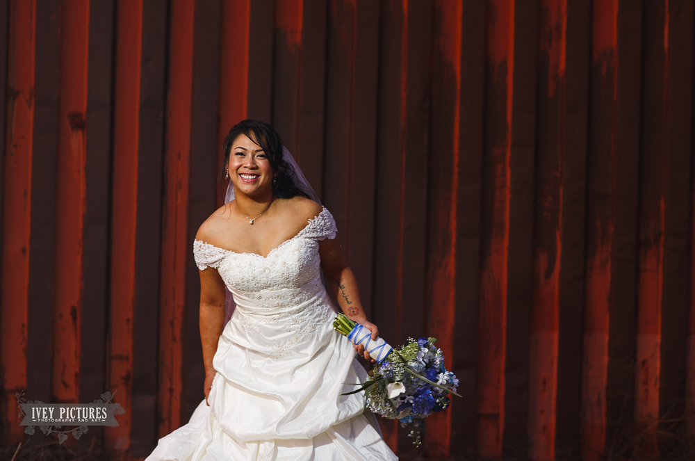 creative bridal portrait jacksonville