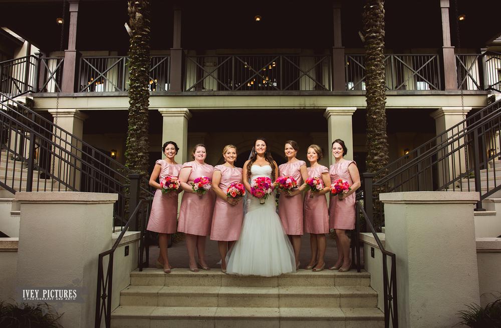 Bridal Party Portrait at Nocatee