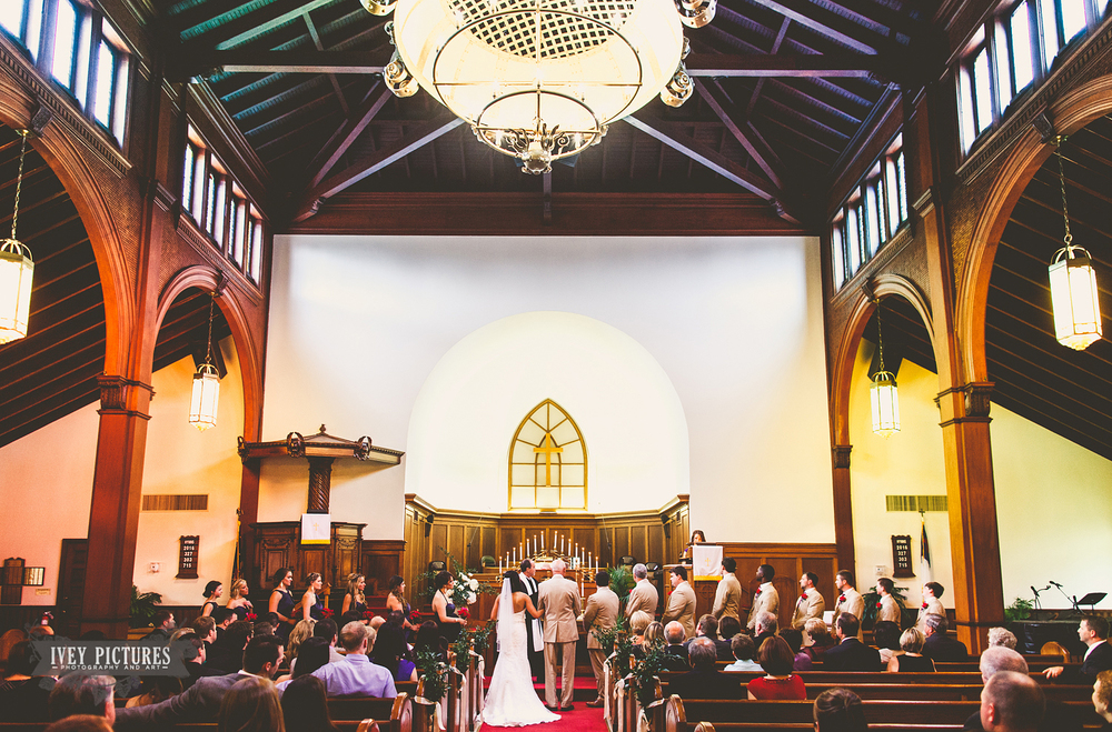 Grace United Methodist Wedding St Augustine Photographer