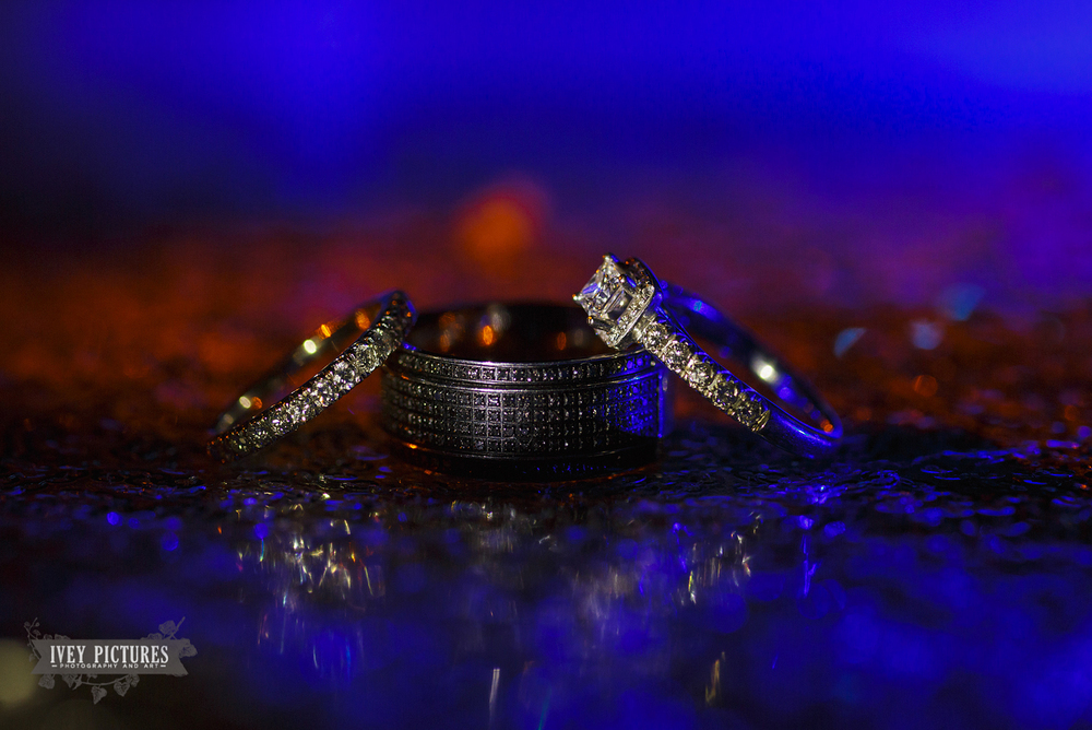 Macro Wedding Rings Photo Ziess