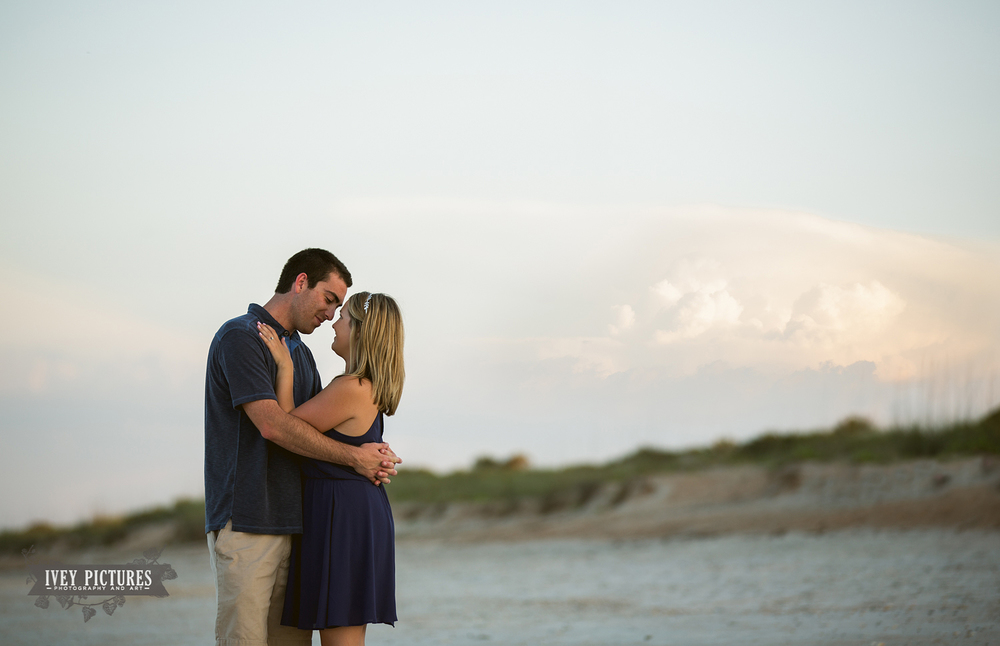 ponte vedra beach engagement session