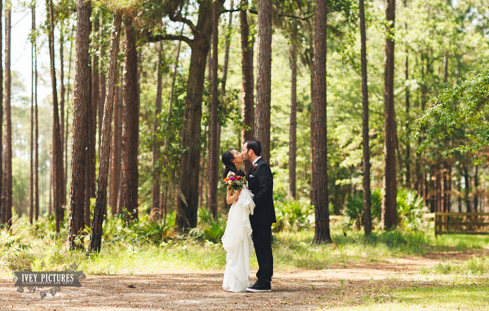 Austin Cary Memorial Forest wedding