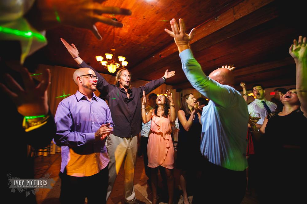 wedding reception at Casa Marina