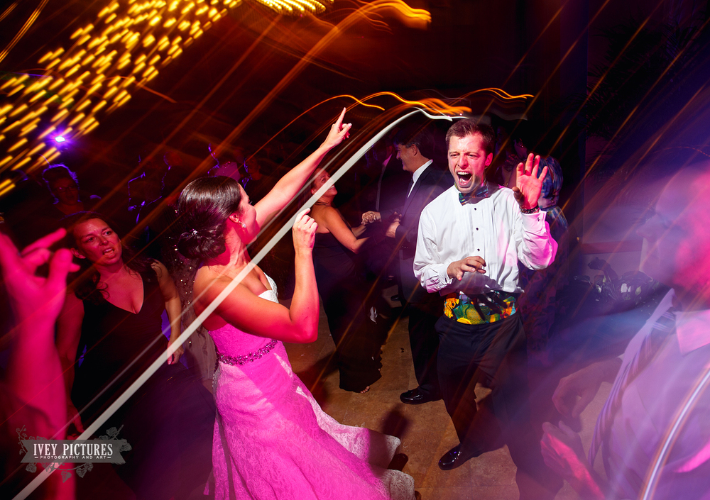 wedding dancing fun