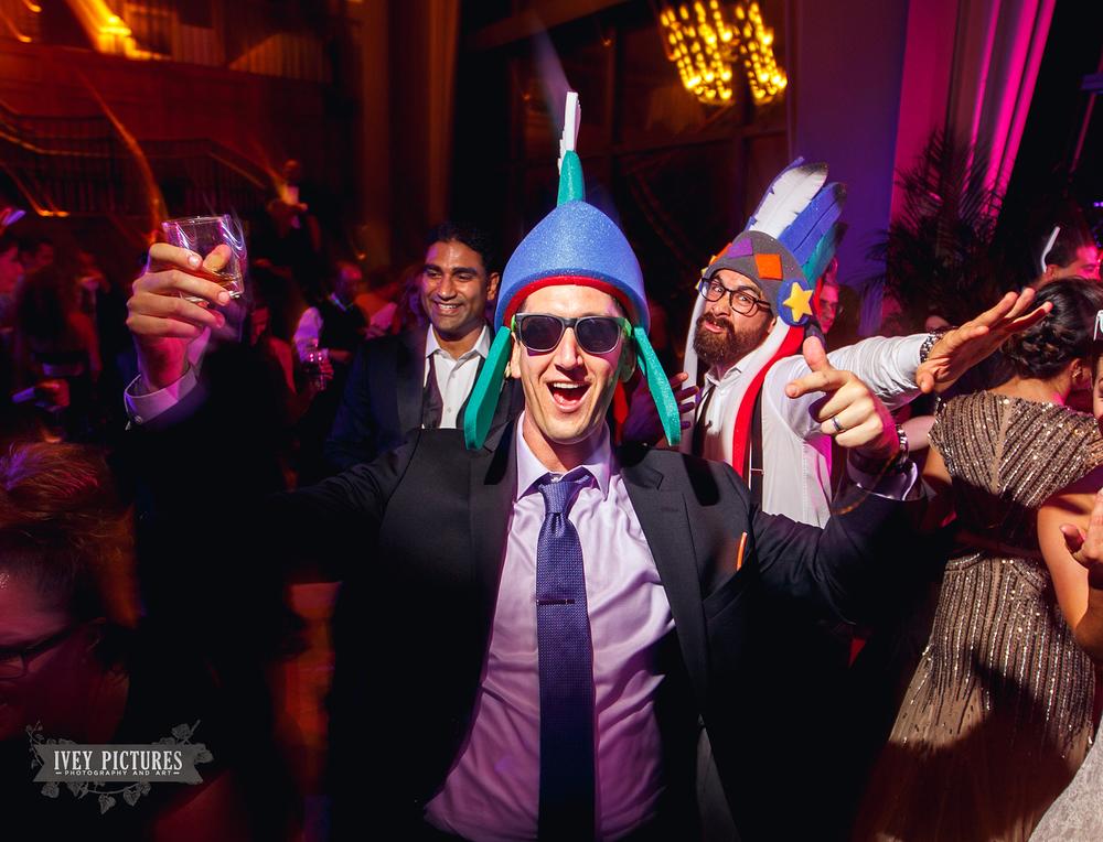 crazy hour wedding hats