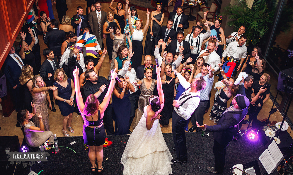 The Royals Band at wedding reception
