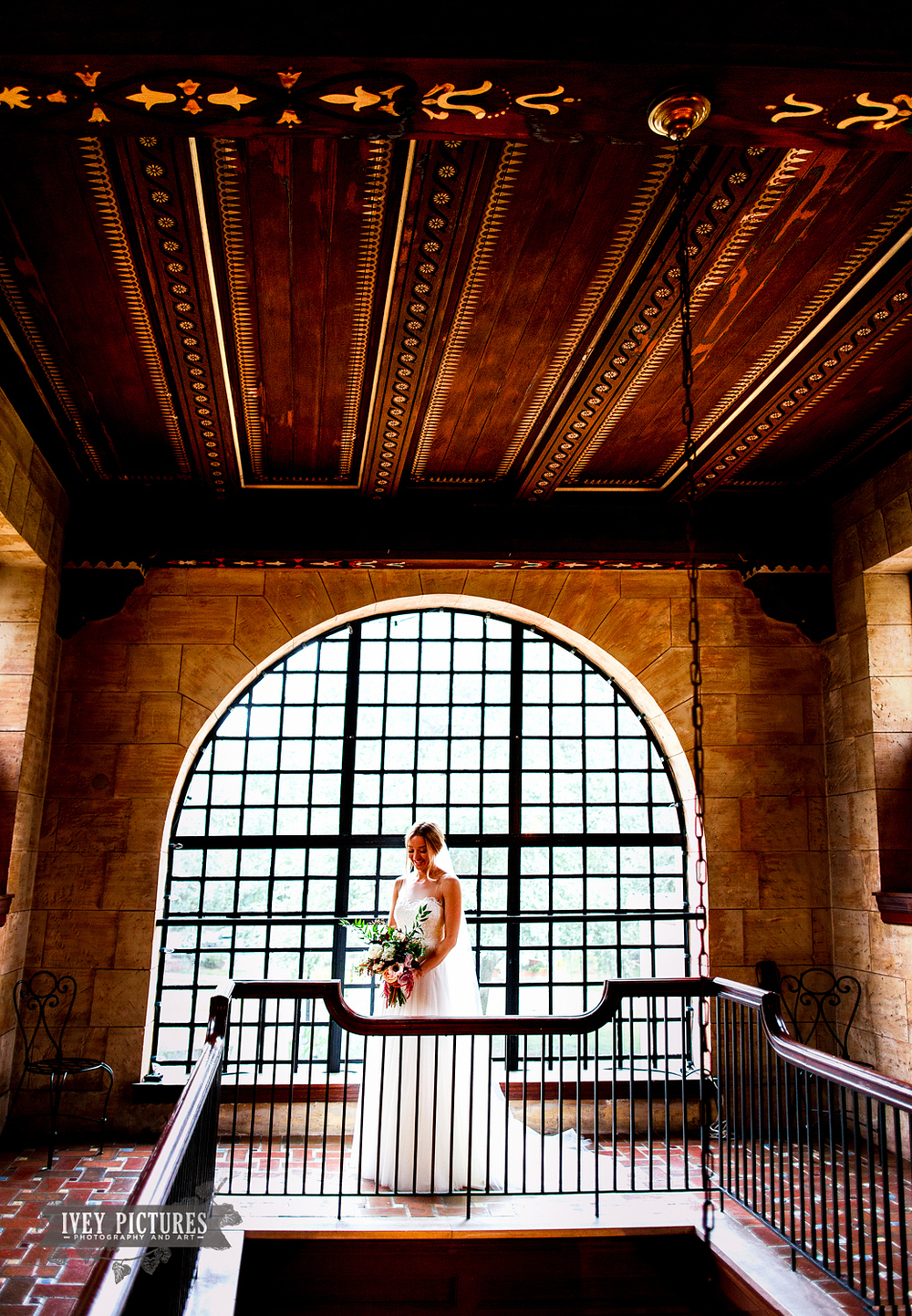 Bride portrait at The Treasury St. Augustine