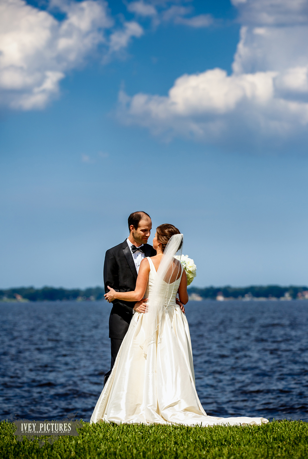 florida yacht club wedding photo