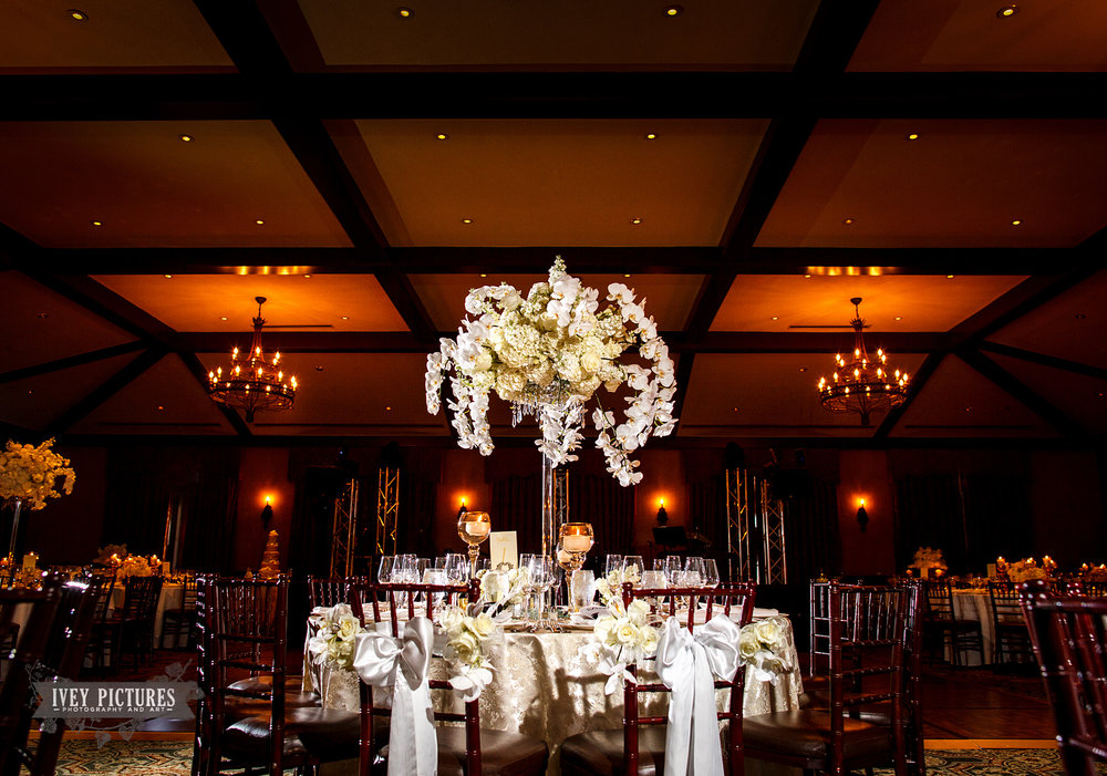 ballroom at tpc wedding