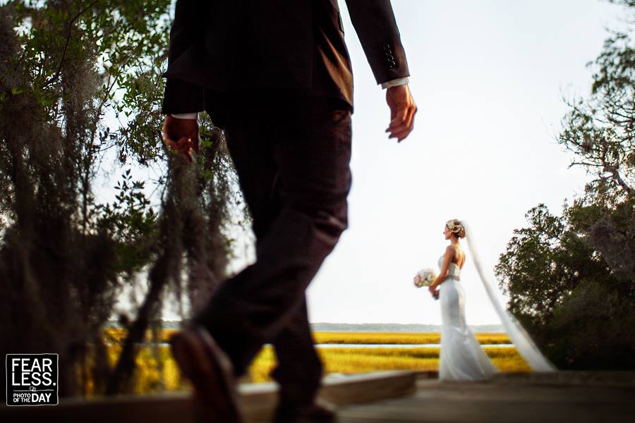 Creative Wedding photographers Walkers Landing Amelia Island