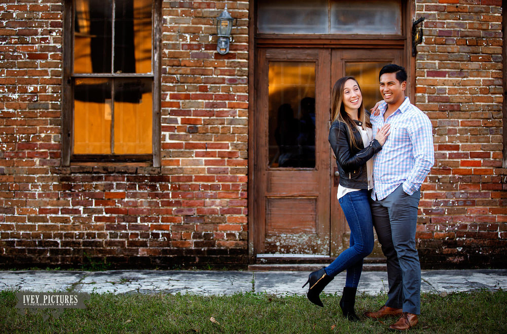 fun engagement photos in st augustine
