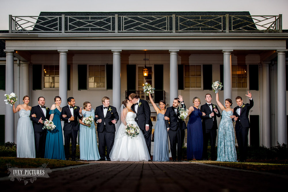 timuquana country club wedding photo