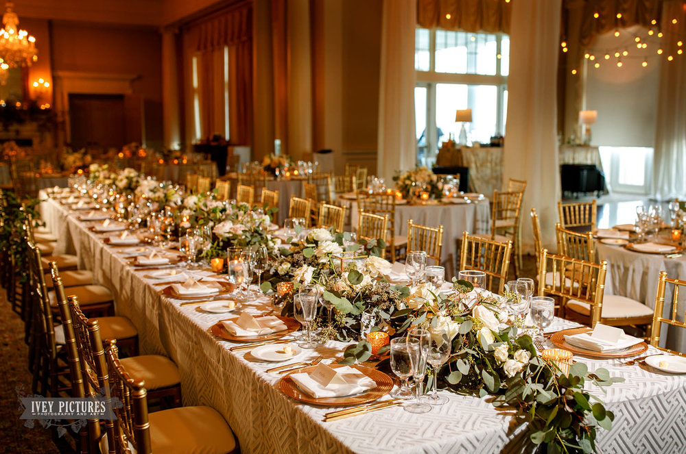 timuquana country club wedding reception tables