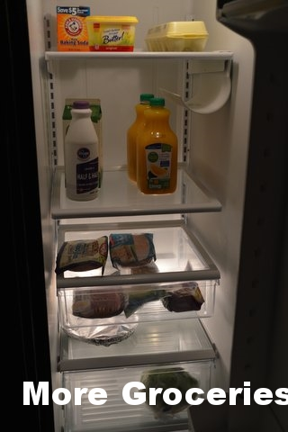 Our cold groceries