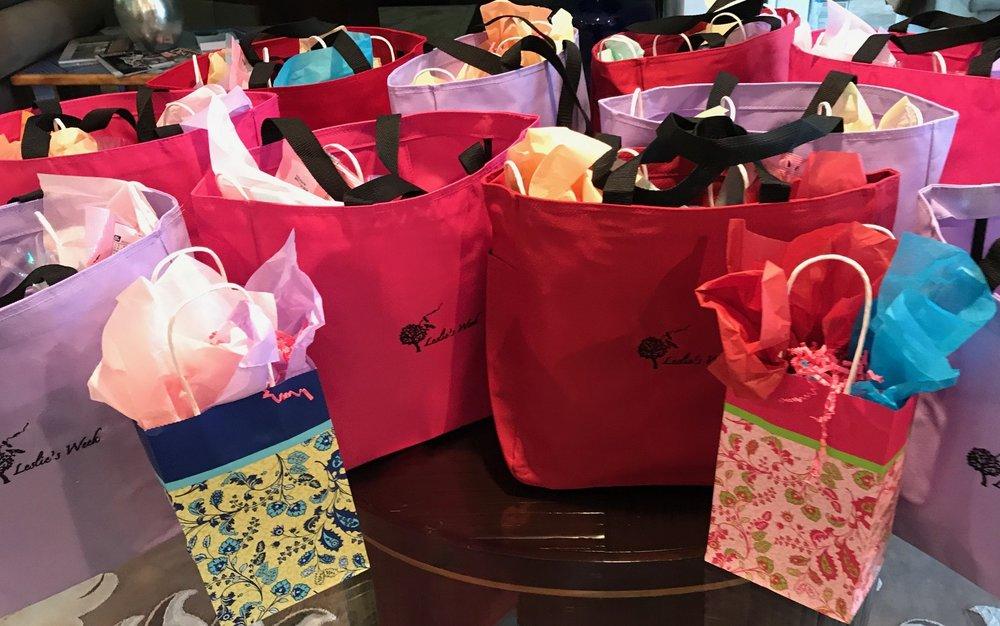 gift bags & LOreal.JPG