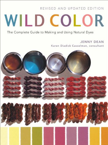 This book is essential for natural dyeing! Jenny has tons of methods and different plant types listed to experiment with. The color photos make things a lot easier to grasp and the instructions are clear and concise. This was my first book about natural dyeing and it really enabled me to learn so much on my own. There is even a small section on indigo. A definite must-have in every dyer's arsenal.