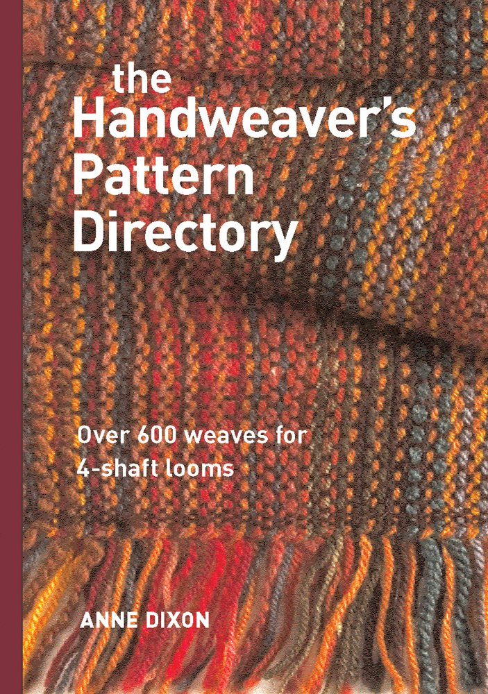 There are tons of weaving books full of patterns, old and new. Most of them rehash the same twills over and over again. I prefer this book for 4-harness weaving for a few different reasons. First, it's all in color. A lot of the older books are exclusively black and white (so old!) and therefore lacking the ability to really show the detail of the weave structure. All color photos mean you can visualize the end result better, which enables you to truly learn and grasp the concept of the weave structure! Second, the spiral binding makes it easy to have next to me while weaving. Third, it lays out drafting and treadling sequences very clearly (color-coded when needed). And lastly, it gives you suggestions for yarn and selvages for each weave type. Extremely useful when trying out new weave patterns.