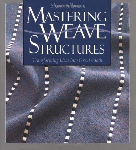I have barely gotten into this book, but it is on my list of books I have to read this year. I bought this on sale a while back, knowing it would be invaluable, but perhaps difficult to get through. Yes, I am a weaver and I love it, but I am not good with math. Complex weave structures make my brain hurt. I tend to approach weaving in a much more intuitive way. Sometimes I don't know why it works, but I know that it does. With weaving, your education is never finished. There is always something new to learn. This book really takes weaving to the next level. It gets to the nitty gritty of each structure, explaining exactly what is going on and why. There are large color pictures and pattern drafts to fully explain and illustrate each point. If you even want to consider designing your own weave patterns, this is a great way to start.