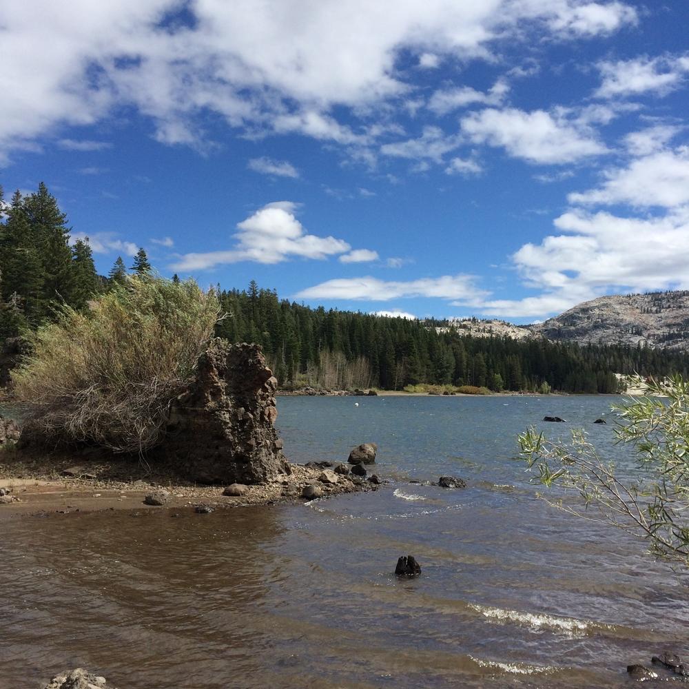 Silver Lake in Kit Carson, California.