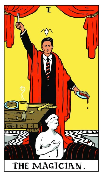 1. The Magician (Dale Cooper) © Benjamin Mackey