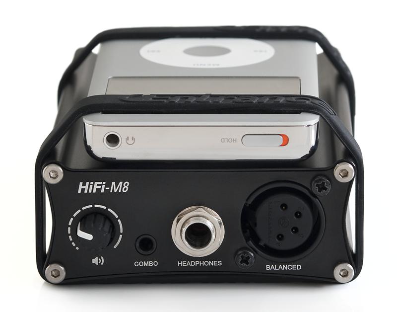 HiFi-M8 front panel© 2015 Wes Bender