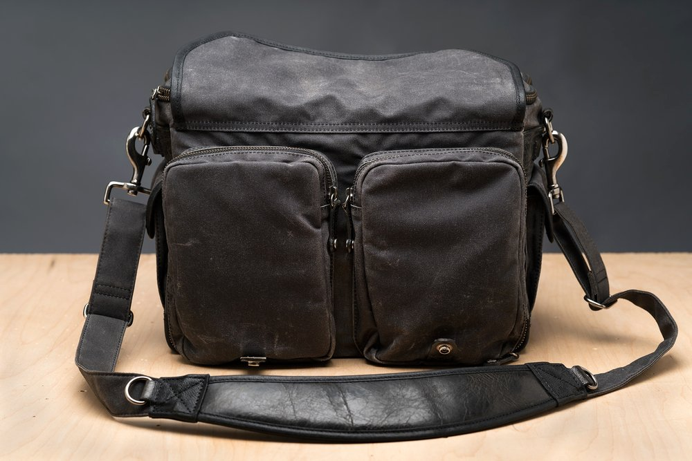 The dual front pockets are large and roomy.