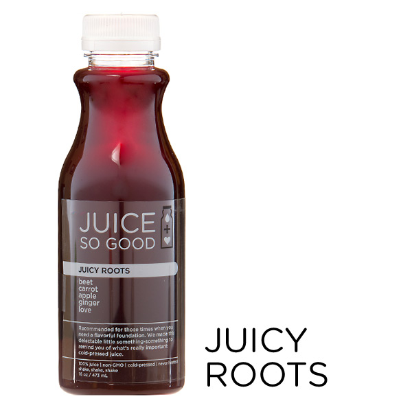 Cold Pressed Juice Juicy Roots