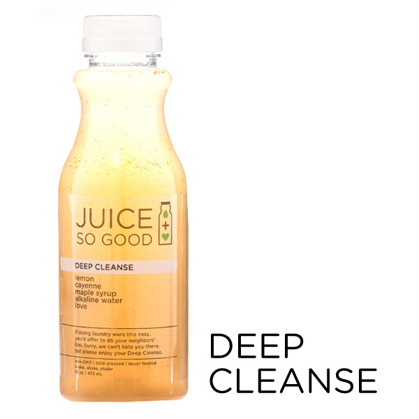 Cold Pressed Juice Deep Cleanse