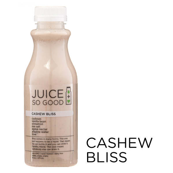 Cold Pressed Juice Cashew Bliss