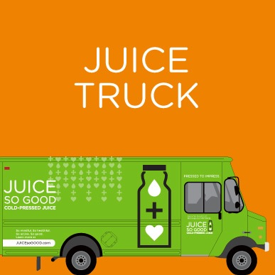 The Juice-mobile| JUICEsoGOOD.com | Cold-Pressed Juices - Never Heated