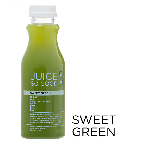 Cold Pressed Juice Sweet Green