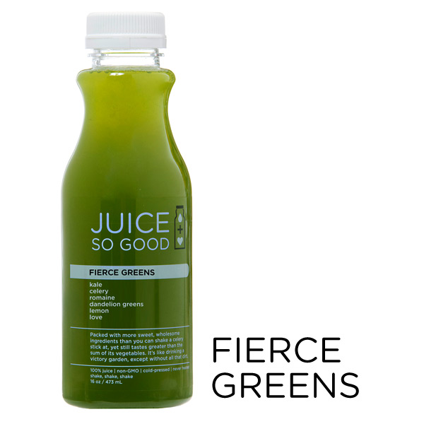 Cold Pressed Juice Fierce Green