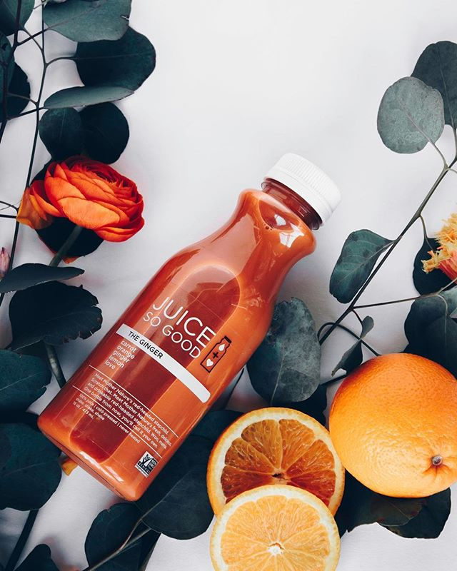 Who says it has to be green to be good for you? The Ginger is loaded with just as many tasty nutrients and bold flavors to keep you feeling ahhhmazing! Orange ya glad we've got you covered?!⠀ .⠀ .⠀ .⠀ .⠀ .⠀ #sogoodsoyou #feelsogood #love #happy #juice #yummy #cleaneating #realfood #coldpressed #healthy #wellness #detox #vegan #whatveganseat #cleaneating #vegansofinstagram #plantbased #healthychoices #cleanse #feedfeed #instagood #follow #minnstagrammers