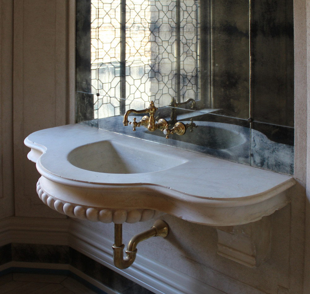 Antiqued Marble Sink