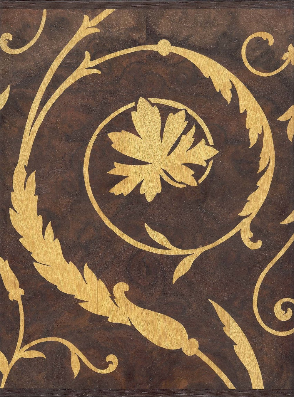 Marquetry Panel, detail