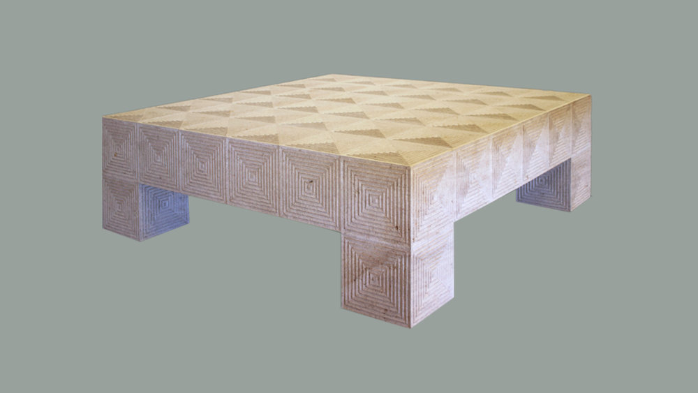 Beaumaniere Limestone Table