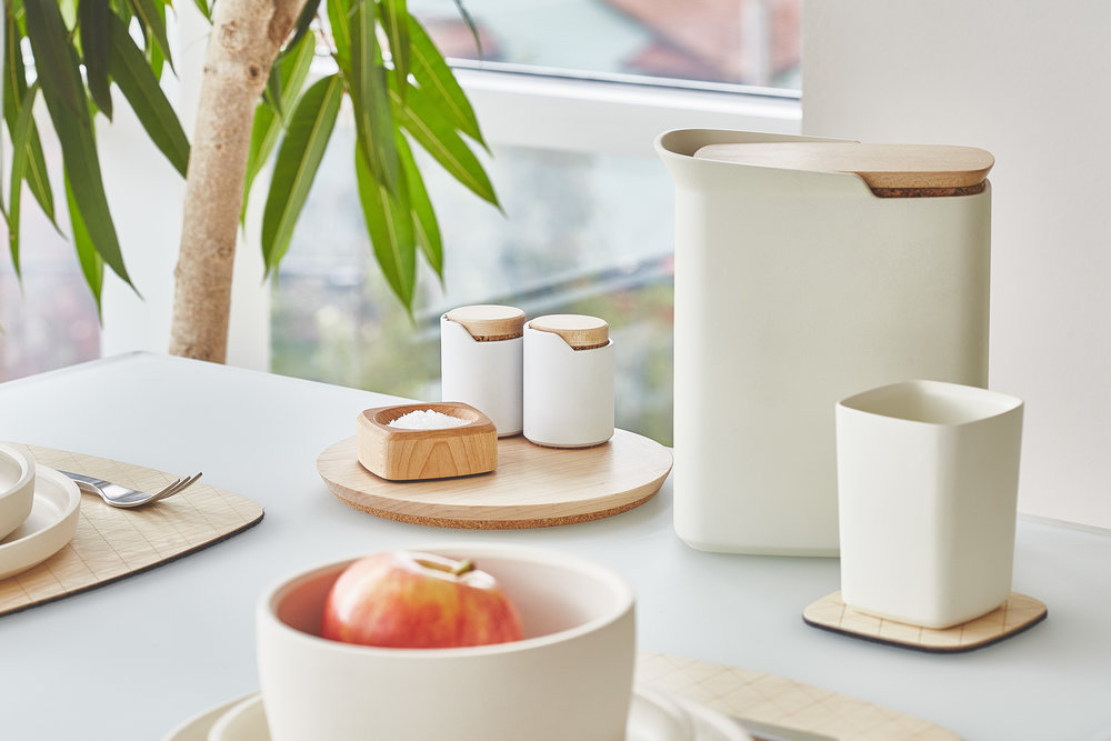 If you would like to read more about how we designed the tableware collection please click the link below. It will take you to the Grovemade Journal. & TABLEWARE COLLECTION \u2014 SEAN /// KELLY