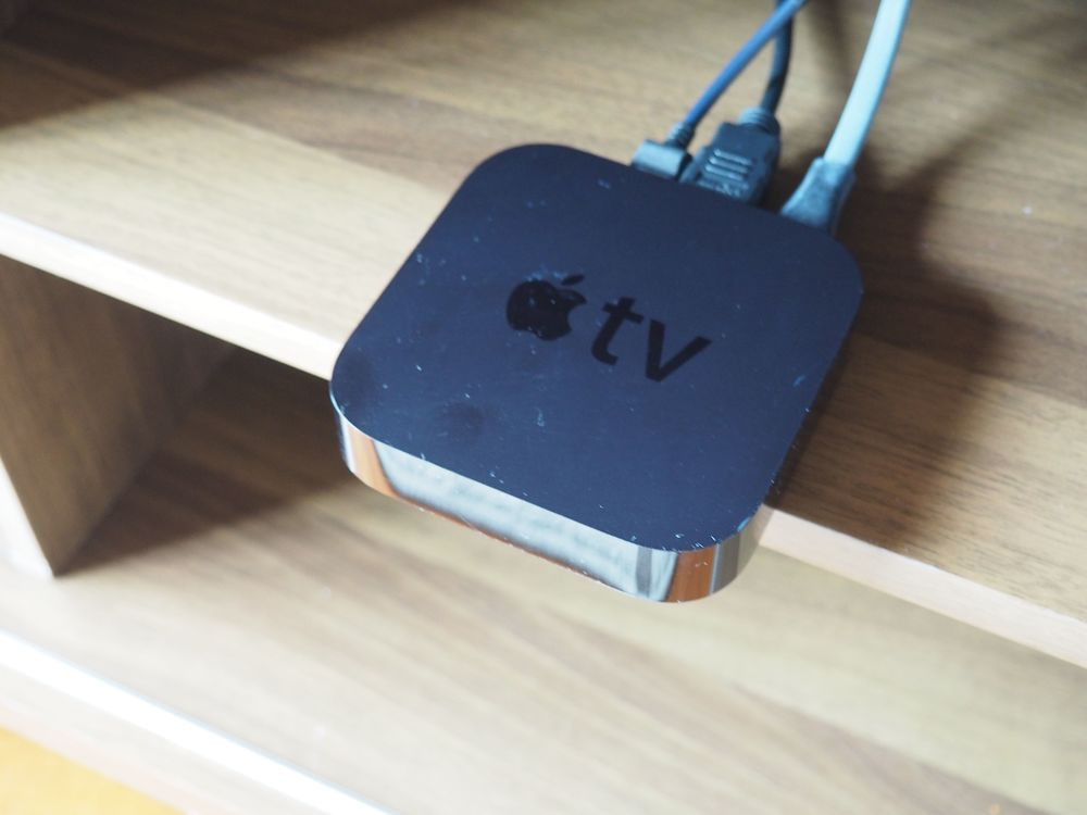 This is the Apple TV