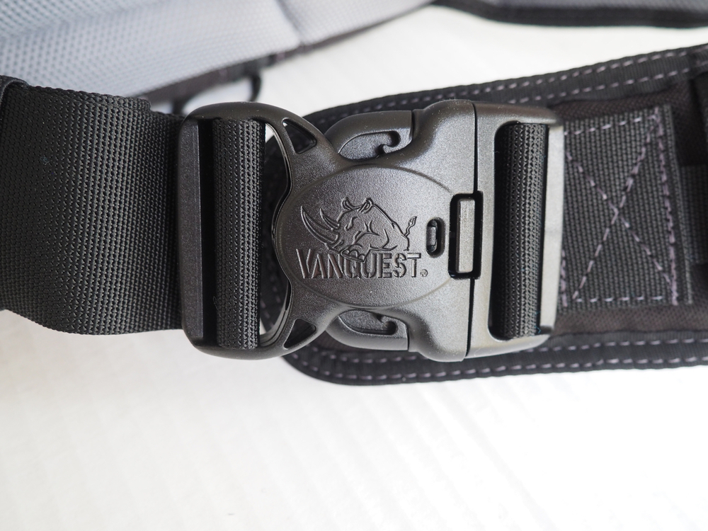 Beefy buckle for the main sling strap