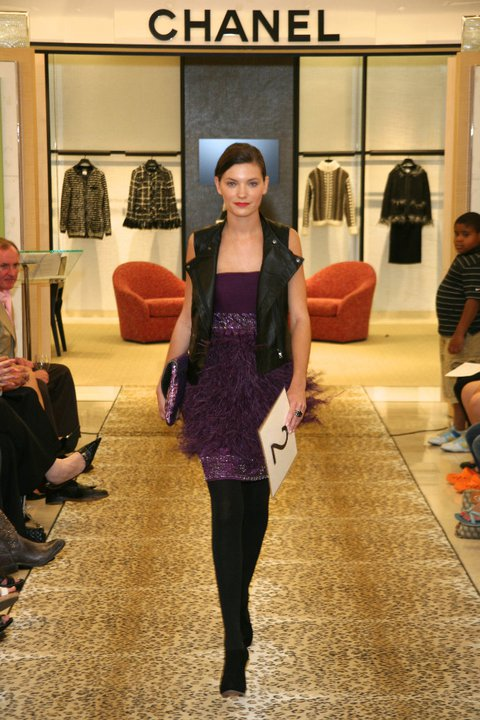 Client: Neiman Marcus Charlotte Project: Fashion's Night Out Style Showdown Runway Show Photographer: George Lainis