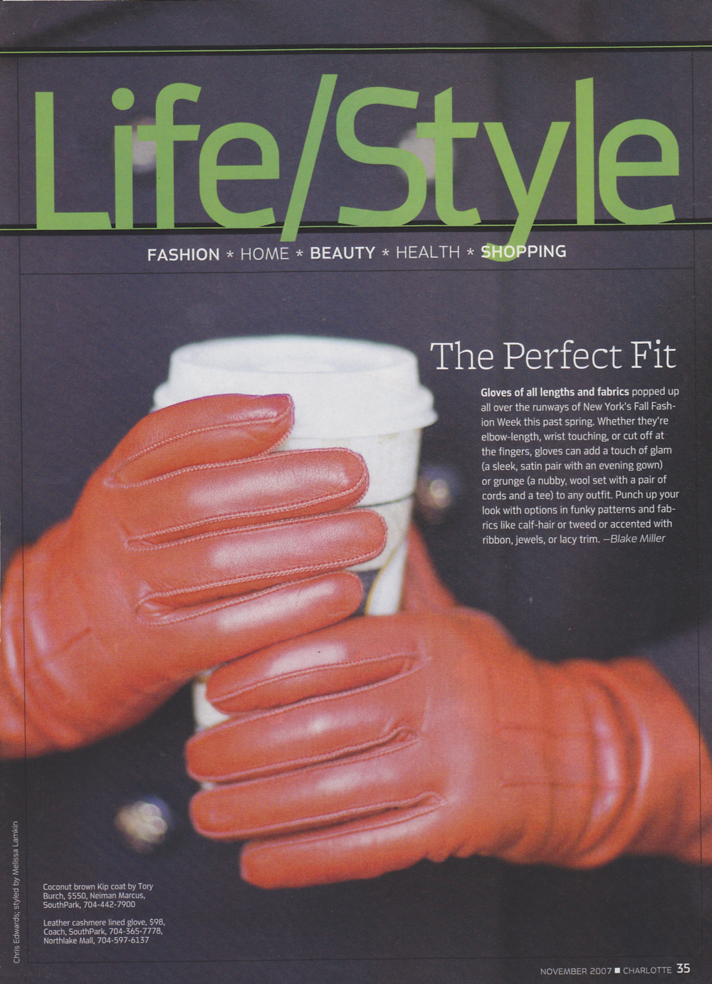 Charlotte Magazine Life/Style The Perfect Fit