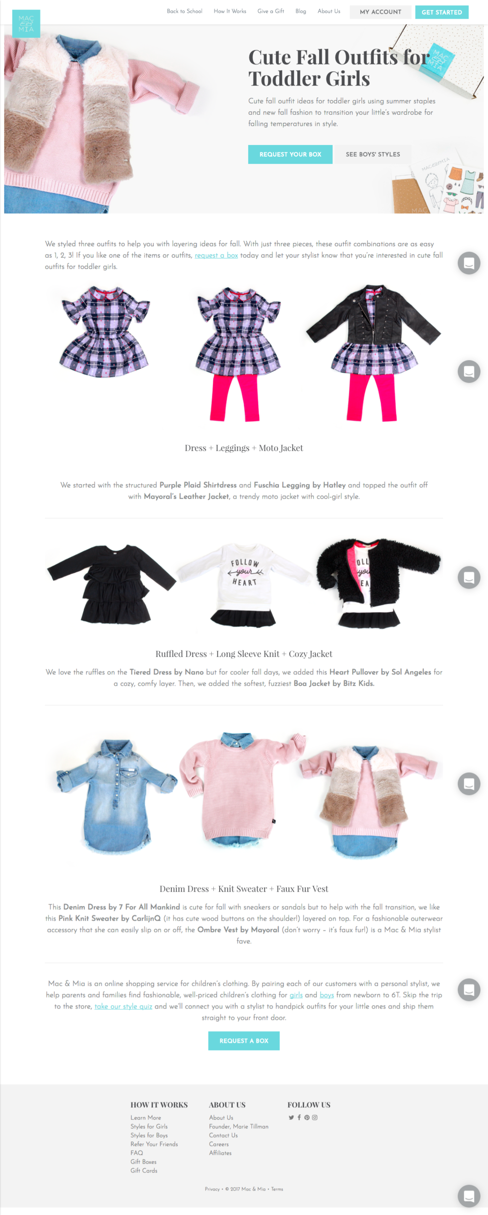 Cute Fall Outfits for Toddler Girls