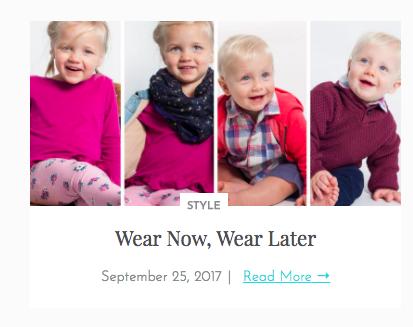 Wear Now, Wear Later