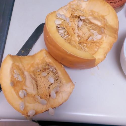 cut pie pumpkin