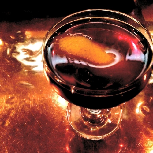 Manhattan made with Antica Sweet Vermouth