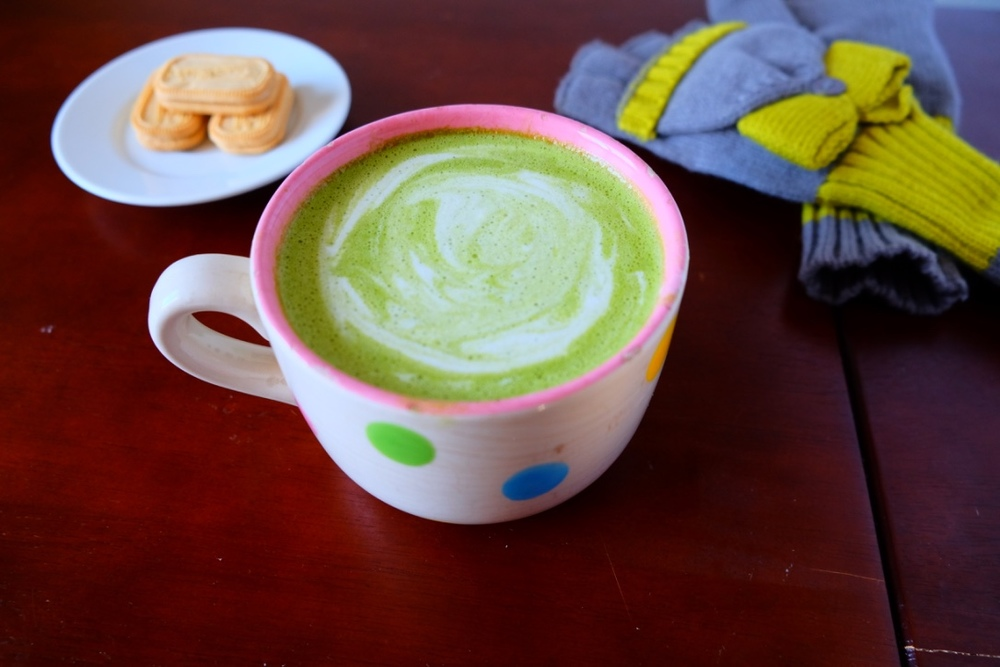Macha Tea Latte