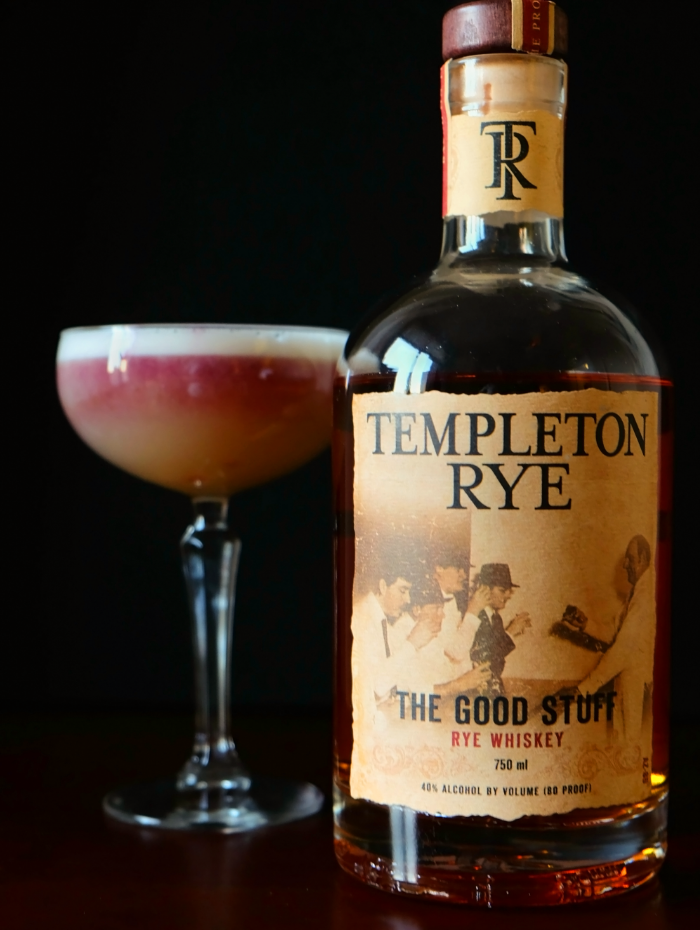Templeton Rye with New York Sour