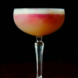 New York Sour with Egg Whites
