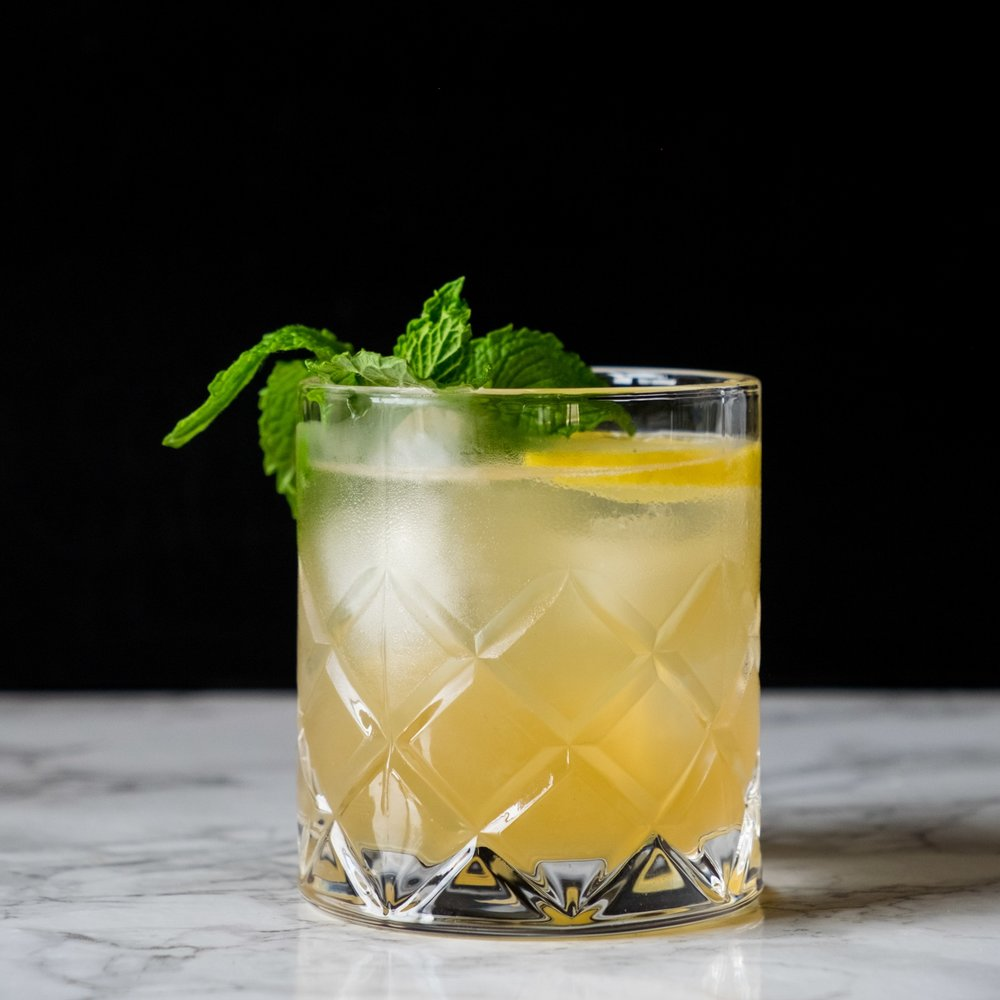 Whiskey & Ginger Smash