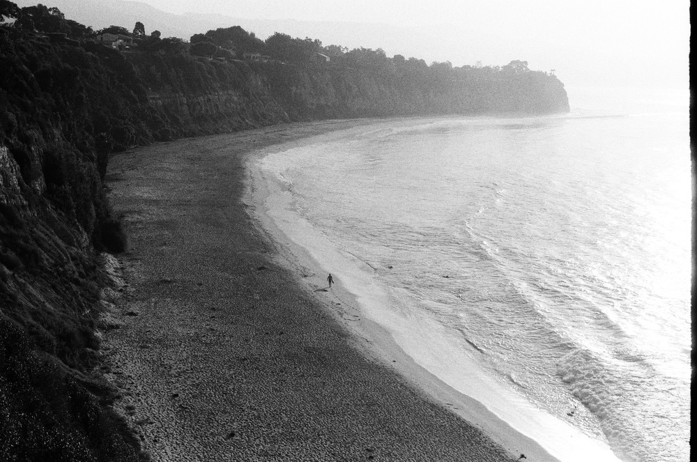 Lone Surfer at Dume